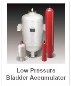 Low pressure bladder accumulator-1 pt